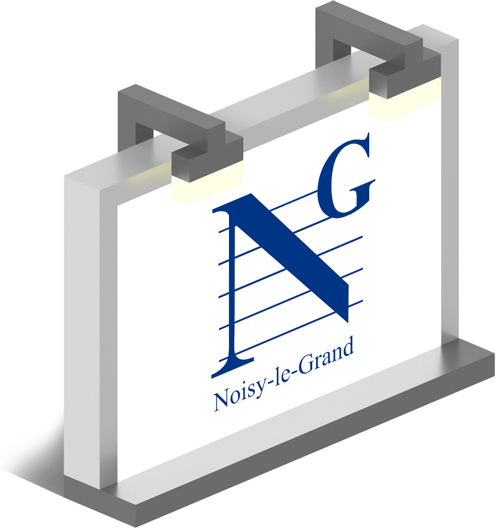 logo mockup Noisy