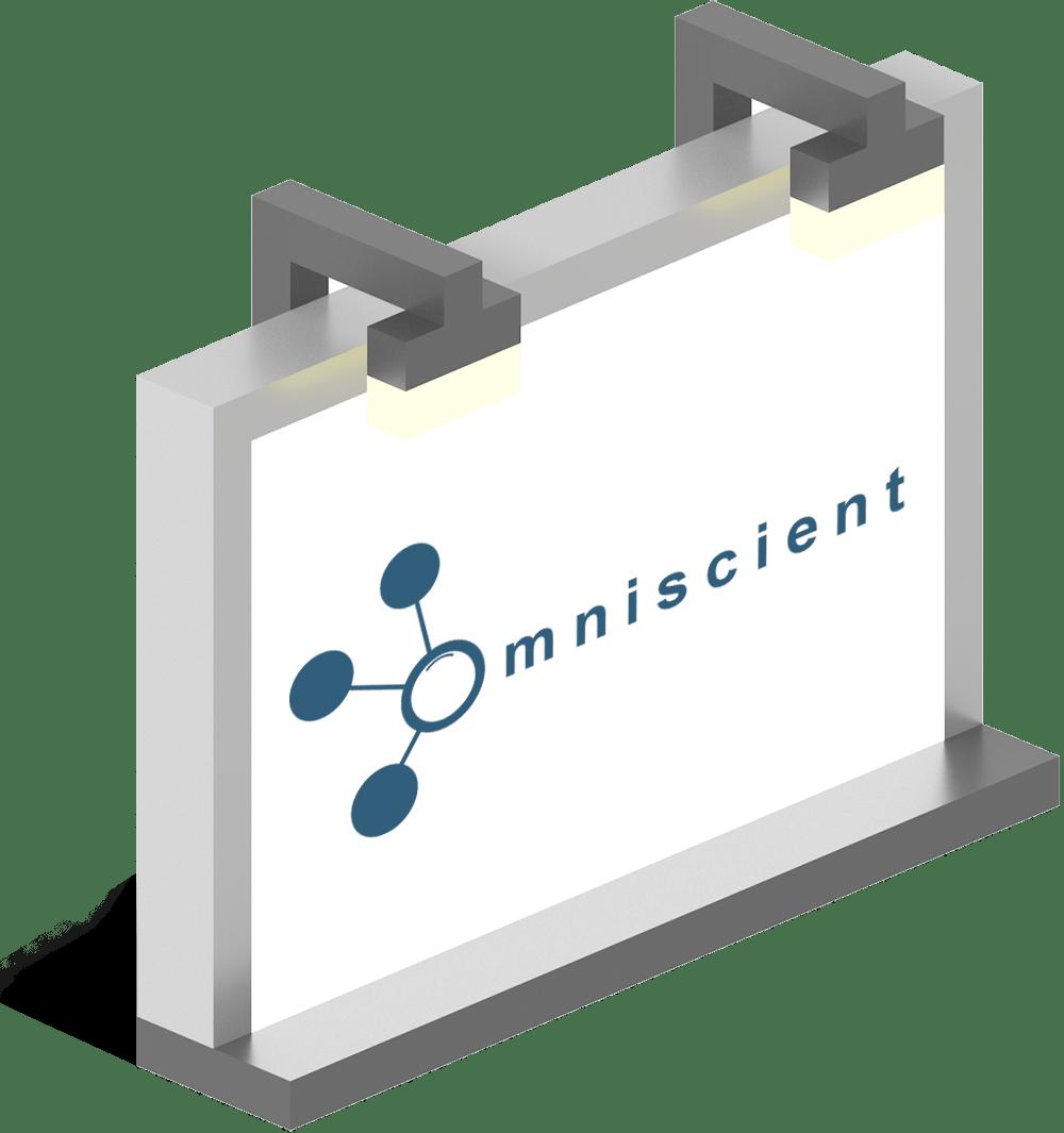 Logo mockup Omniscient